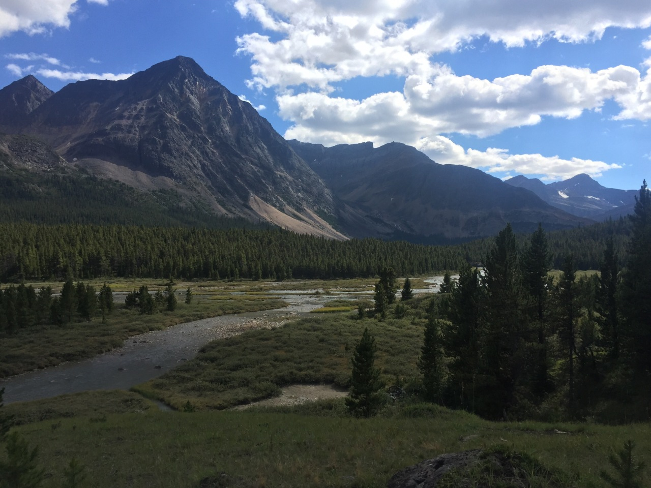 "6 days ""Into the wild""…so still alive! Brazeau Loop."
