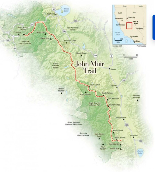 Summer 2017, The John Muir Trail it will be.