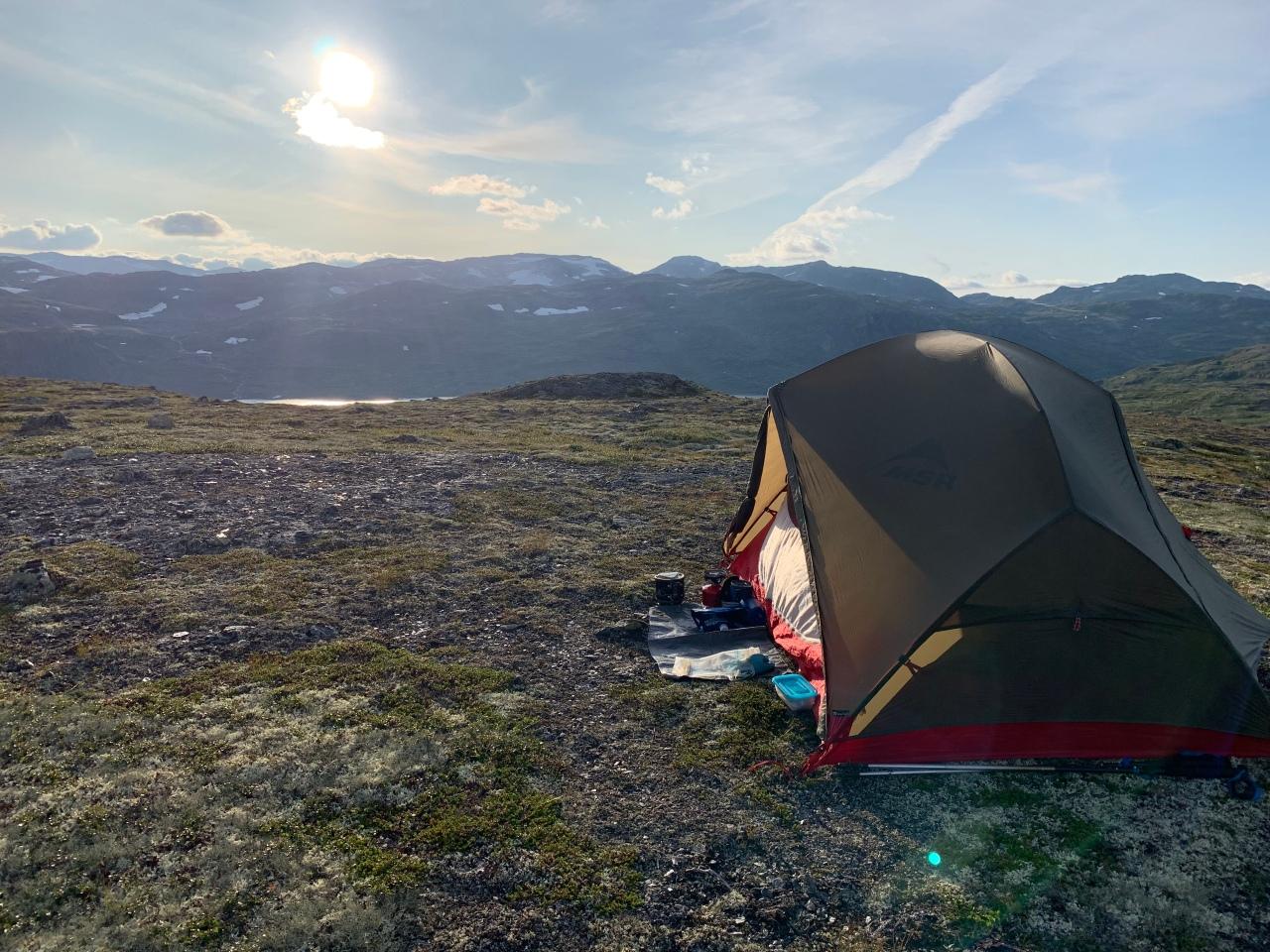Dag 2 Tevree in Norwee, eigenlijk dag 3 maar dat boeitnie.